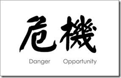 Crisis - Danger + Opportunity