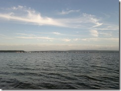 The view towards Brownsea island