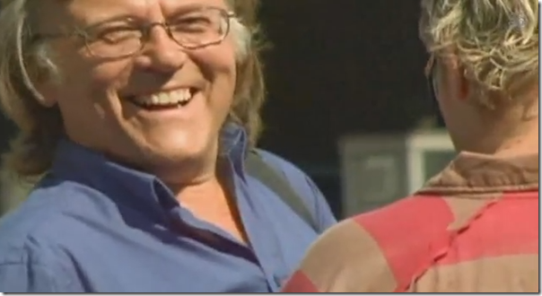 A very smiley Ken Hawkins (click to view the SGI video)