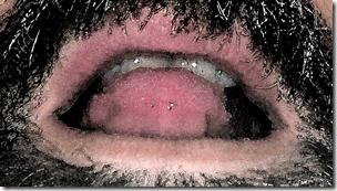 Biting My Tongue