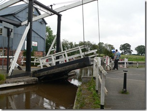 Challenges Come In All Shapes And Sizes - Wrenbury lifting bridge