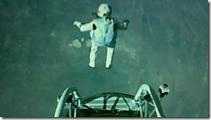 Baumgartner takes his leap of faith