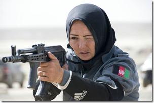 Afghan Policewoman