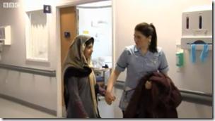 Malala Going Home