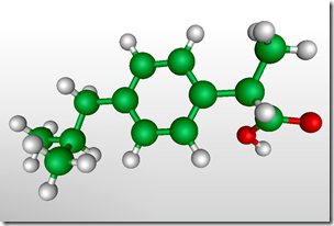 The Ibuprofen Molecule