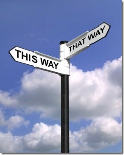 This Way, That Way, The Middle Way