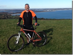 Atop the Purbeck, before the worst of the mud