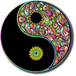 Yin and Yang, Good and Bad, two parts of the whole