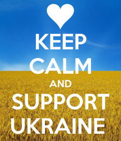 Kepp Calm and Support Ukraine