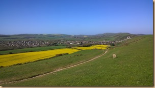 The view from Rollington Hill - Click to view