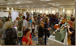 Crowds At The Inaugrual Bournemouth Vegan Fair
