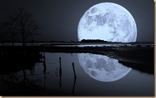 The Reflected Moon